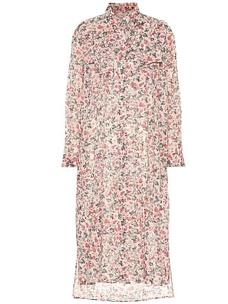 Isabel Marant Eliane floral cotton shirt dress