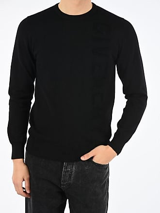 Givenchy Embroidered Logo Roundneck Sweater size L