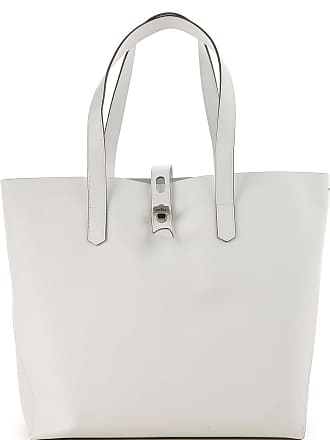 d8df6046080 Hogan Tote Bag On Sale, White, Leather, 2017, one size