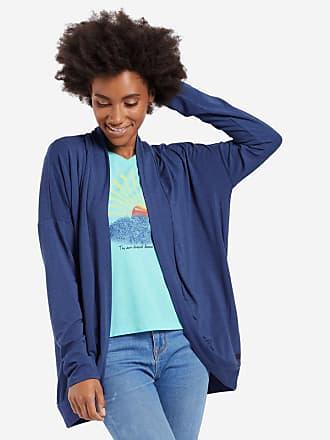 Life is good Womens Supreme Cardigan XS Darkest Blue