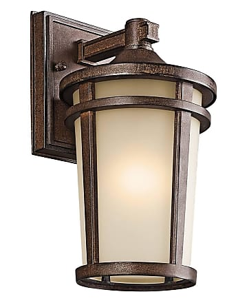 Kichler 49071BST Outdoor Wall 1Lt in Brown Stone