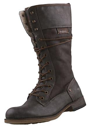 Mustang 1139-633 Womens Laced   Zip Biker Boots 01fb35fa7c