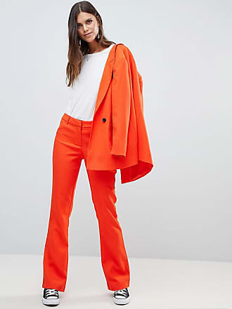 Y.A.S Colored Tailored PANTS Two-Piece - Orange