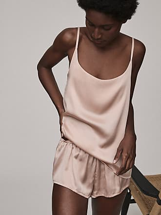 Asceno Venice Pale Blush Silk Cami