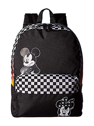 3ba8d7422f Vans Mickeys 90th Punk Mickey Realm Backpack (Black) Backpack Bags