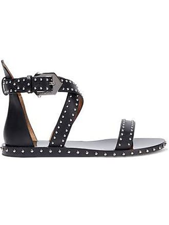 a4b355672413 Givenchy Givenchy Woman Studded Leather Sandals Black Size 35