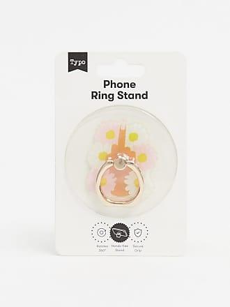 Typo Typo - Anello per telefono con fiore-Multicolore