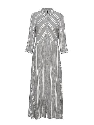 65f0b3d572e3 Vero Moda Yasjayleen Long Shirt Dress Maxiklänning Festklänning Grå YAS