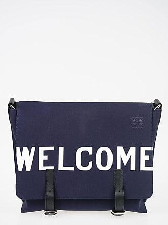 Loewe Canvas WELCOME Messenger Bag size Unica