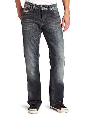 753eea57 Diesel Mens Viker Regular Slim Straight-Leg Jean 0885K, Denim, 30x30