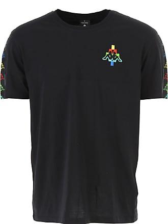 Marcelo Burlon T-Shirt Uomo On Sale, Kappa By Marcelo Burlon, Nero, b156ac5f2fe