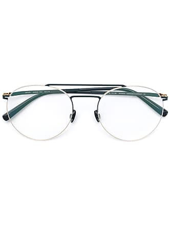 Mykita Armação de óculos redondo - Metálico