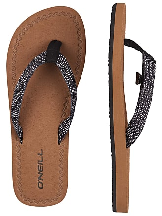 61950890f O Neill Womens Fw Woven Strap Sandals Shoes   Bags