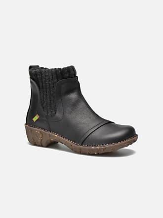 b2578bf75a4 El Naturalista Yggdrasil NE23 - Boots en enkellaarsjes voor Dames / Zwart