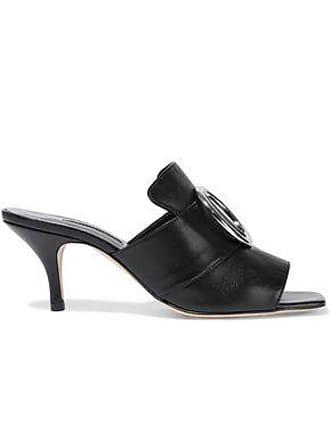 DORATEYMUR Dorateymur Woman Galaxy Embellished Leather Mules Black Size 35