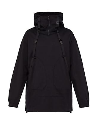 db45aae57bb53 Yohji Yamamoto Parachute Cotton Hooded Sweatshirt - Mens - Black