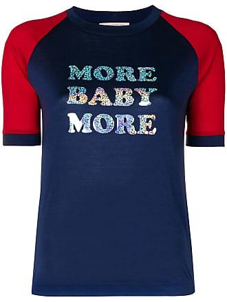 Christopher Kane Camiseta More Baby More - Azul
