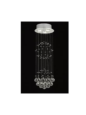 Gallery T40-432 Modern 3 Light 1 Tier Crystal Mini Chandelier with