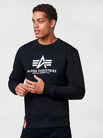 Alpha Industries Sweatshirt Basic Sweater Svart