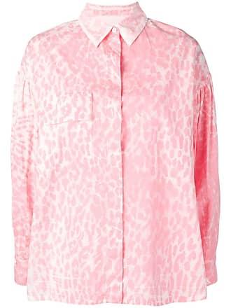 8pm leopard print shirt - Pink