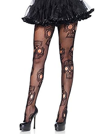 03b6dbf842b5a Leg Avenue Womens Plus Size Sugar Skull Fishnet Tights