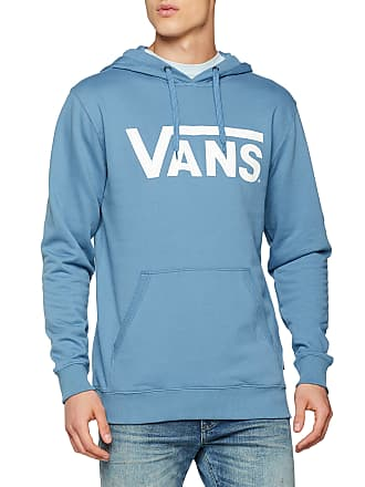 9ebd8fa5c35b Vans Apparel Menss Classic Pullover Hoodie Copen Blue-White Pii