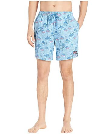2cc0409a812134 Delivery: free. Vineyard Vines Beach Huts Chappy Swim Trunks (Cornflower) Mens  Swimwear