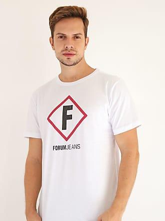 Forum Camiseta Forum Estampada Branca