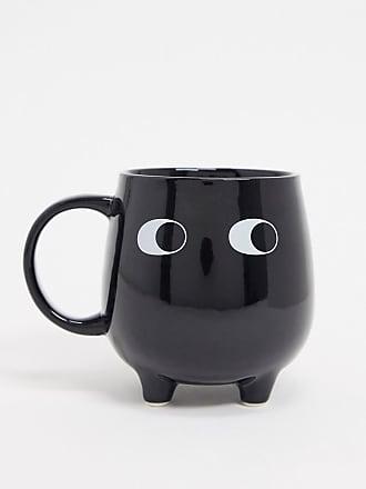 Sass & Belle Mug con occhi nera-Multicolore