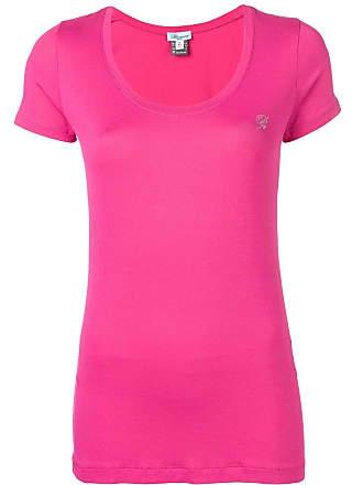 Blumarine Camiseta decote em U - Rosa