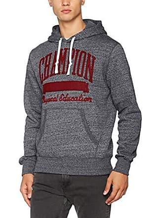 Champion Hooded Sweatshirt-Varsity, Sweat-Shirt à Capuche Homme, Gris (Dgrmm 4eeb36edae38