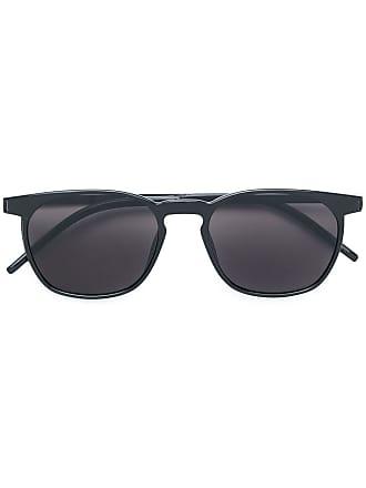 Saint Laurent Eyewear Óculos de sol armação redonda - Preto