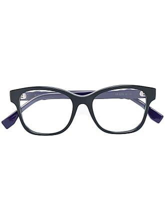 Fendi Armação de óculos quadrada - Preto