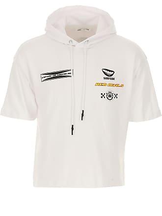 Alexander McQueen Sweatshirt for Men On Sale, White, Cotton, 2017, L M S XL