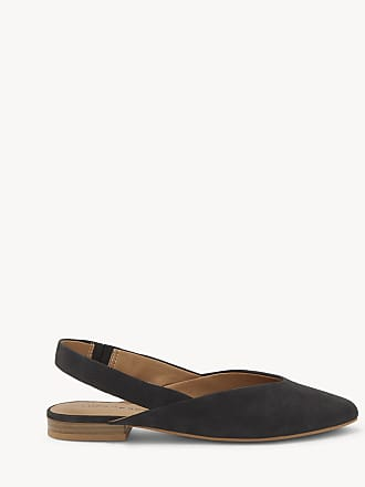 Lucky Brand Womens Benten Slingback Flats Black Size 5.5 Leather From Sole Society