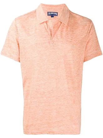 Vilebrequin open collar polo shirt - Orange
