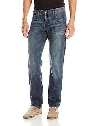 Lucky Brand Mens 221 Original Straight Jean, Blue/Gold, 33x32