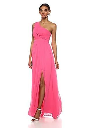 Bcbgmaxazria BCBGMax Azria Womens One Shoulder Cutout Gown, Light Begonia, 6