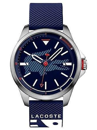 987183c7466 Lacoste Relógio Lacoste Masculino Borracha Azul - 2010940