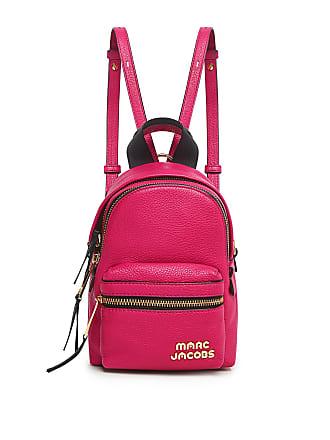 Marc Jacobs Cowhide Micro Backpack Fuchsia
