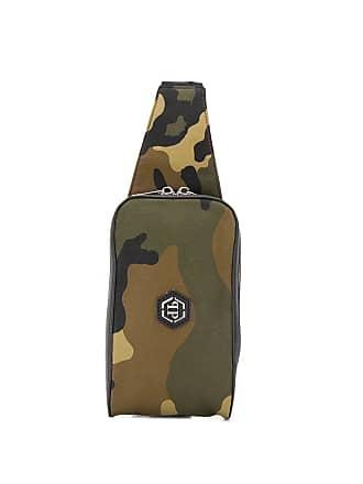 Philipp Plein camouflage print belt bag - Green