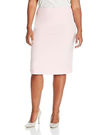 Kasper Womens Plus Size Solid Slim Skirt, Tutu Pink, 18W