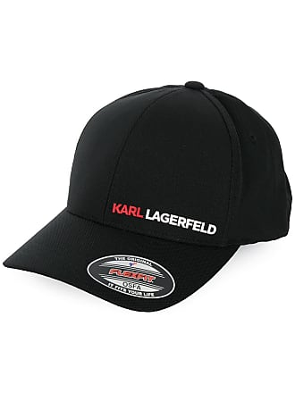 Karl Lagerfeld Boné com estampa de logo - Preto