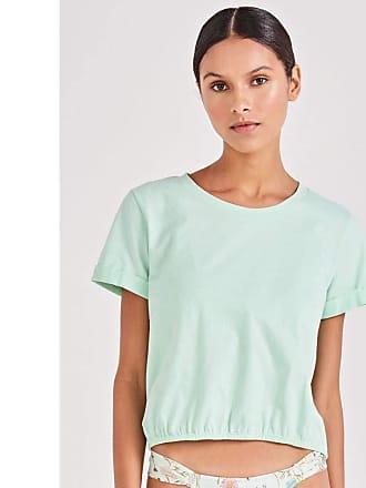Triya T Shirt Elástico Verde-M