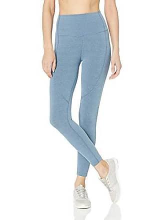 Maaji Womens Dazzling Mid Rise 7/8th Length Legging, Space Dye Dusk Blue, Small