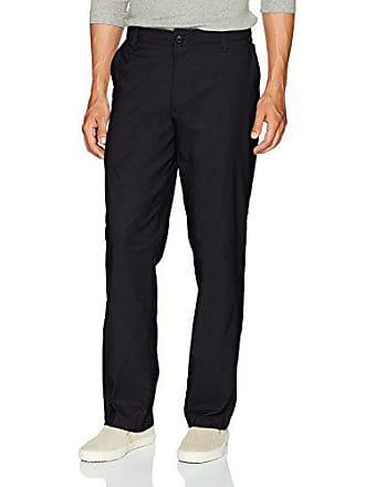 Wrangler Authentics Mens Authentics Comfort Flex Waist Nylon Pant, Black, 32X30