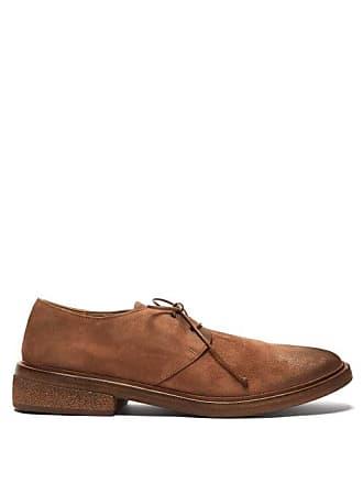 Marsèll Suede Derby Shoes - Mens - Brown