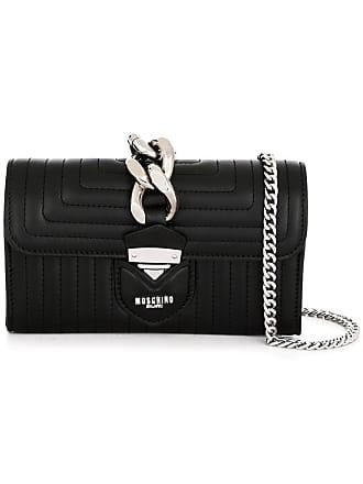 Moschino sac porté épaule à détail de chaîne - Noir 030caeabd57