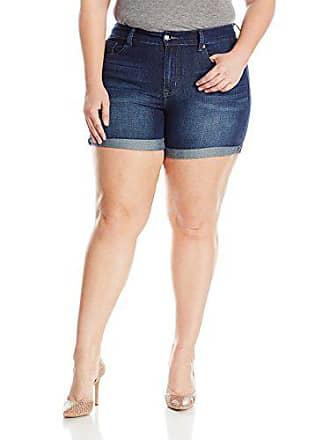 378c2b2c8f81f Melissa McCarthy Seven7 Womens Plus Size 5 Inseam Jean Short