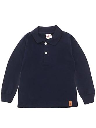 Brandili Camiseta Polo Brandili Menino Liso Azul-Marinho